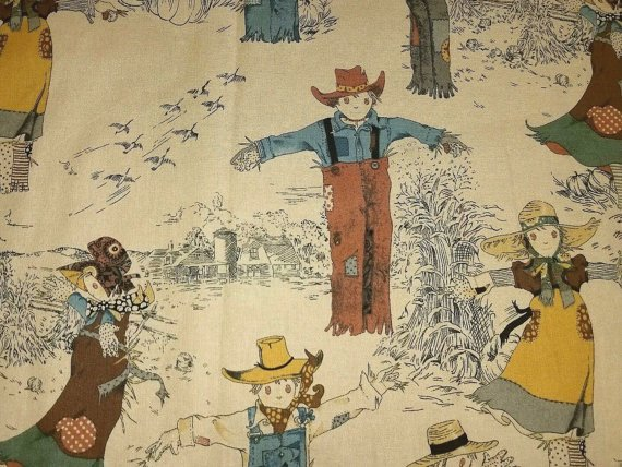 Alexander Henry Thanksgiving Scarecrows