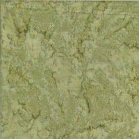 Batik Textiles med molted green blender