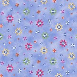 Elizabeth's Studio Winter Quilts  Princesses blue/stars