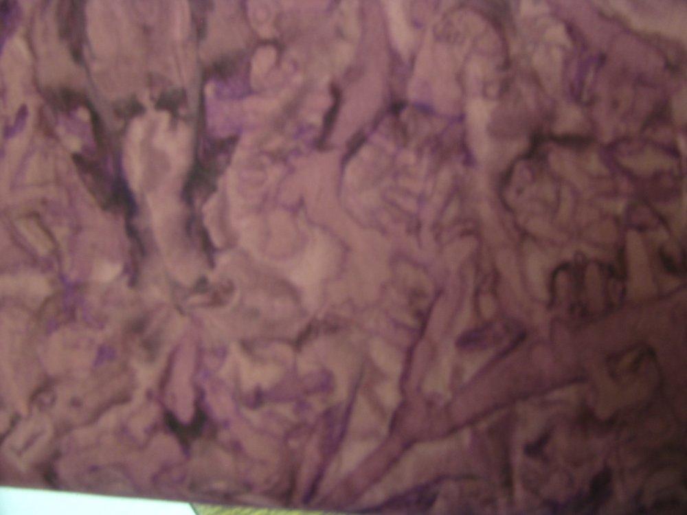 Island Batik molted maroon