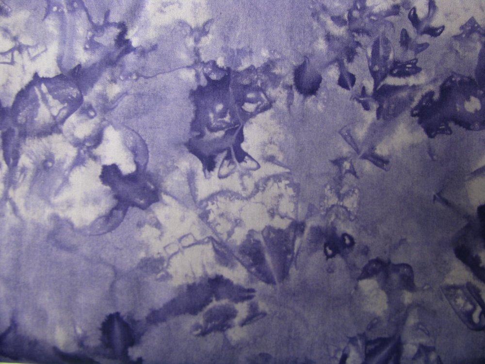Island Batik molted purple