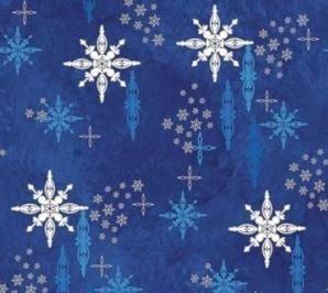 Northcott Stonehenge Christmas Starry blue  1E