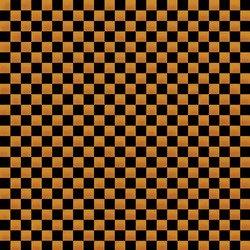 Northcott Midnight Madness orange/black squares