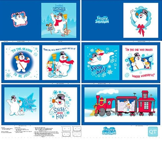 Quilting Treasures Favorite Snowman Frosty