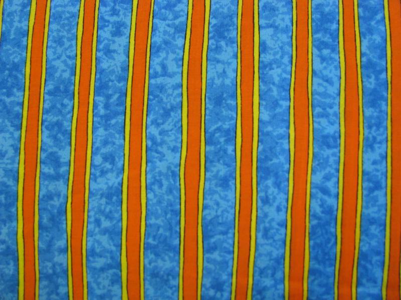 Orange and yellow strip