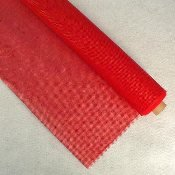 Vinyl Coated Mesh Roll 18x36 Red