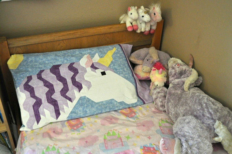 Unicorn Pillowcase Pattern