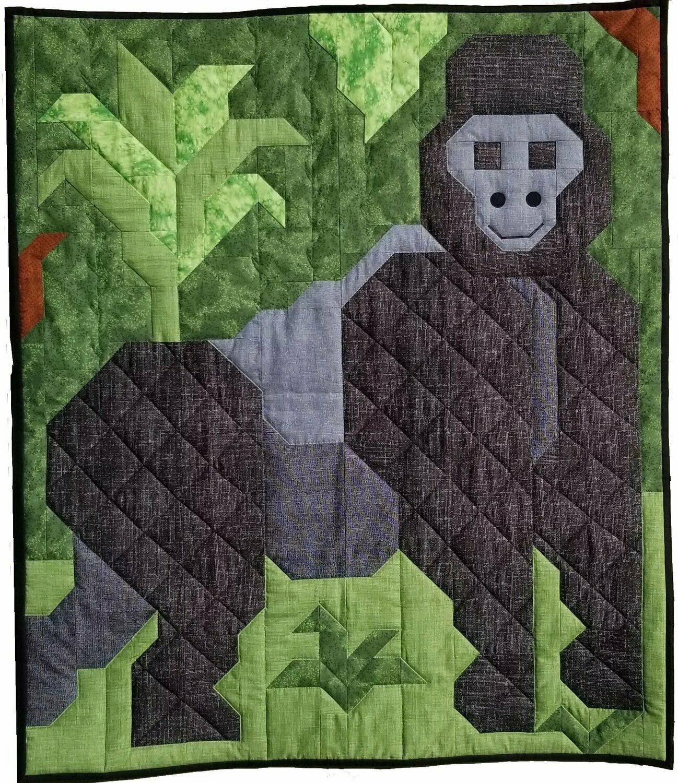 Gorilla Quilt Pattern