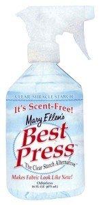 Best Press Spray Starch- Scent Free 16oz.