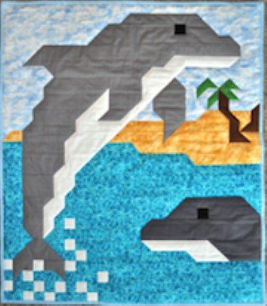 Dolfin Quilt Pattern