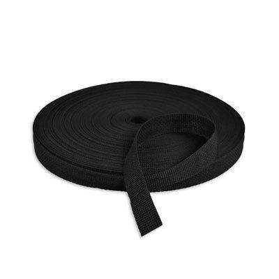 Polypropylene Webbing  - 1 inch Black