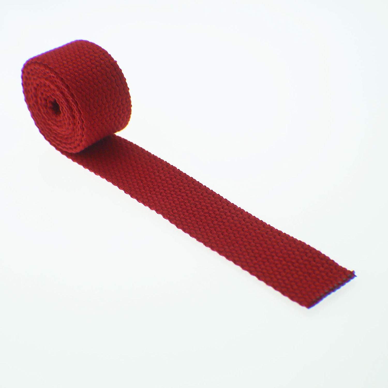 Polypropylene Webbing  - 1 inch Red
