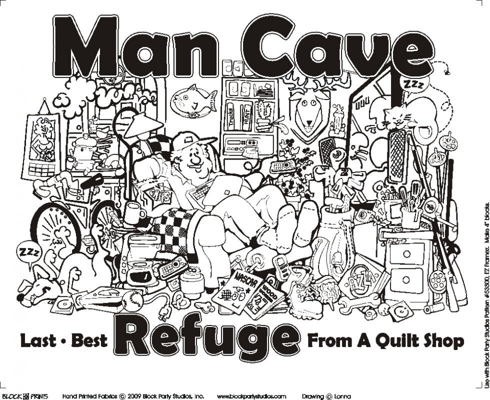 Man Cave Panel  16 X 20