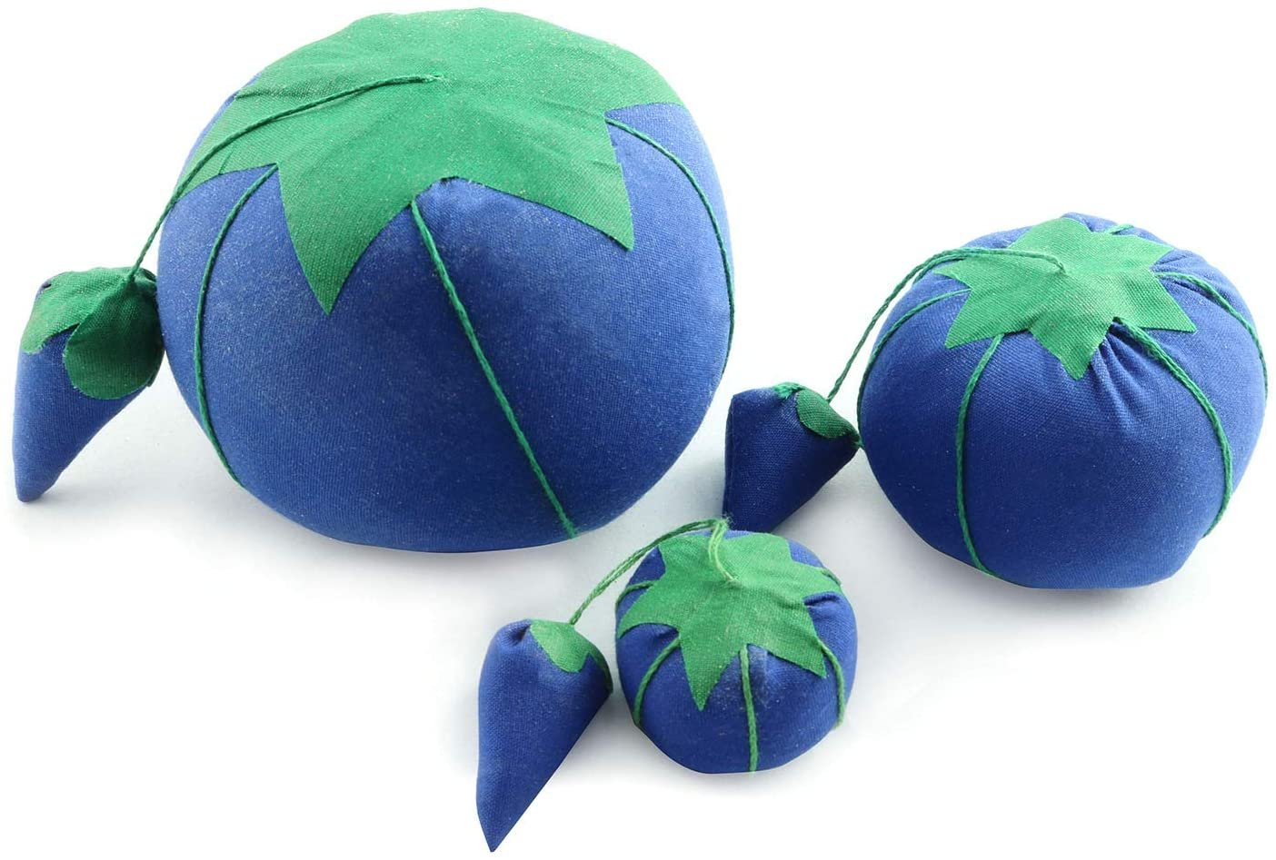 Tomato Pin Cushion Blue