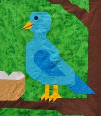 BLUE BIRD Quilt Pattern