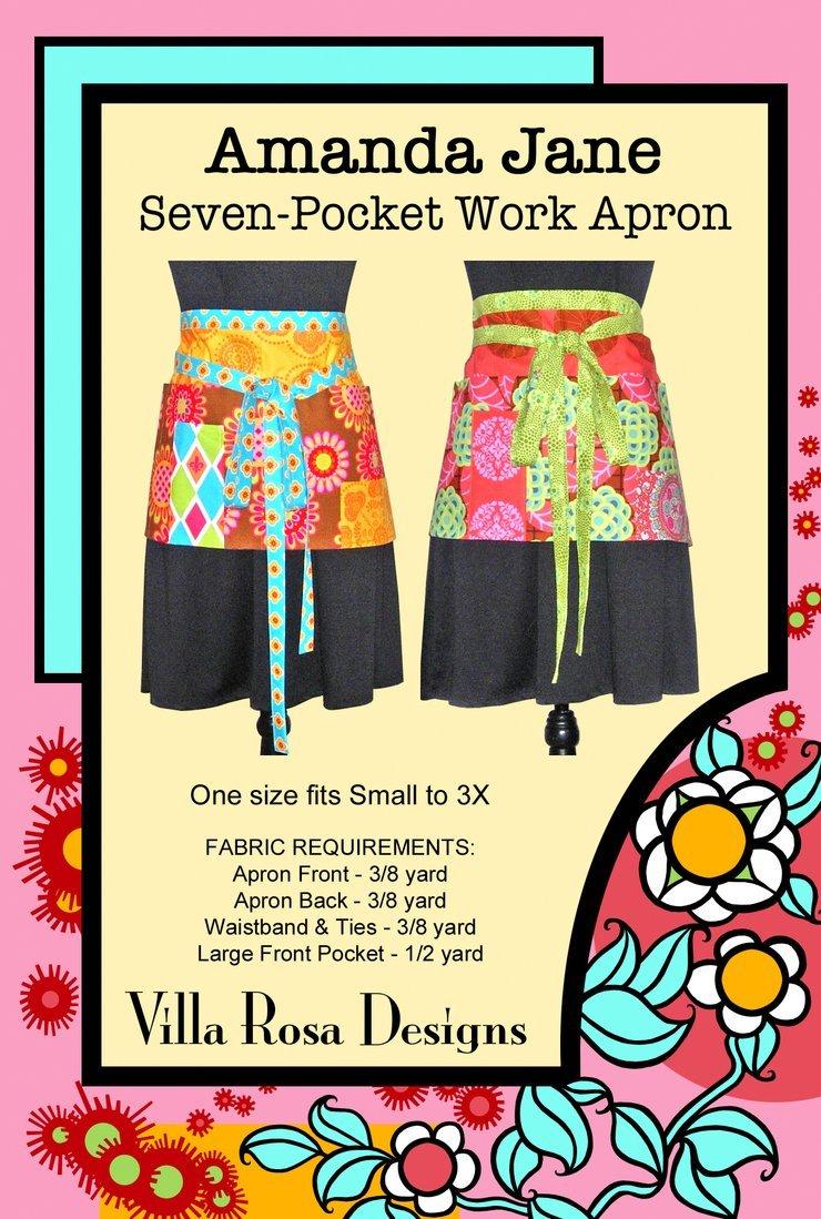 Seven-Pocket Work Apron