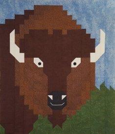 Bison Quilt Pattern