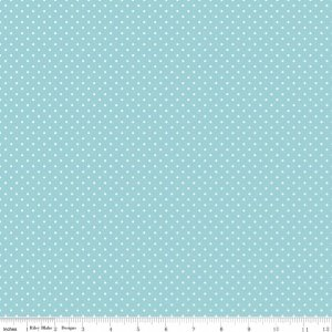 Swiss Dots  C670-20 Aqua