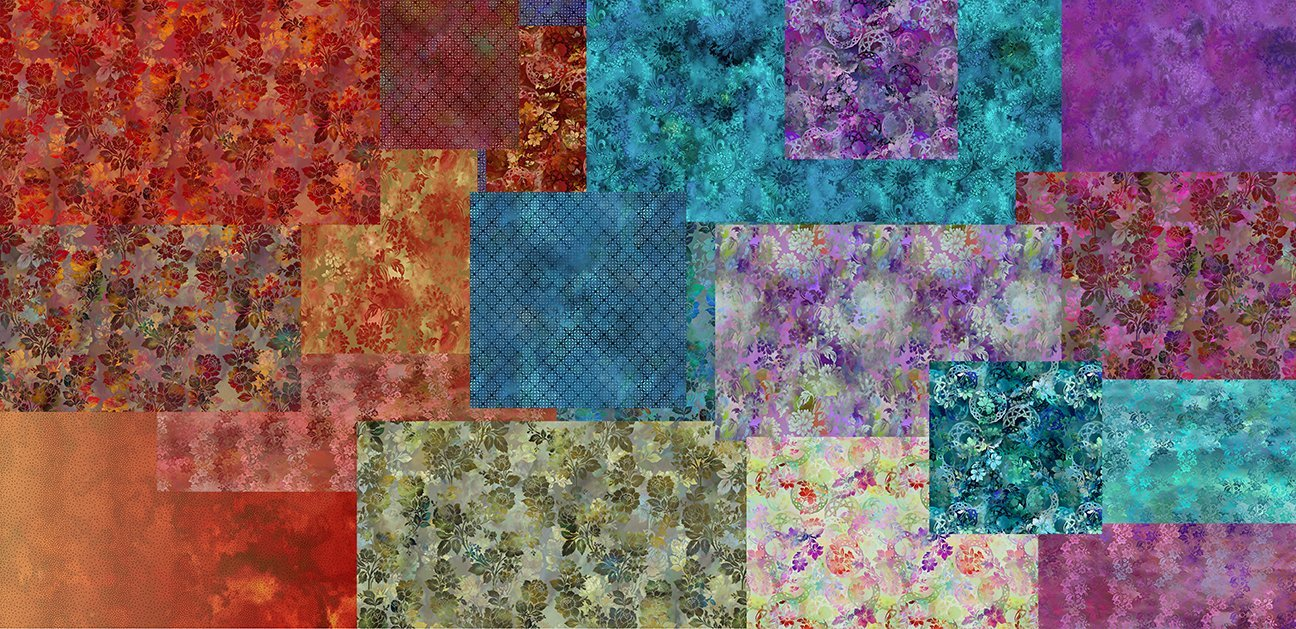 Diaphanous  Fat Quarter Bundle -  29 Pieces