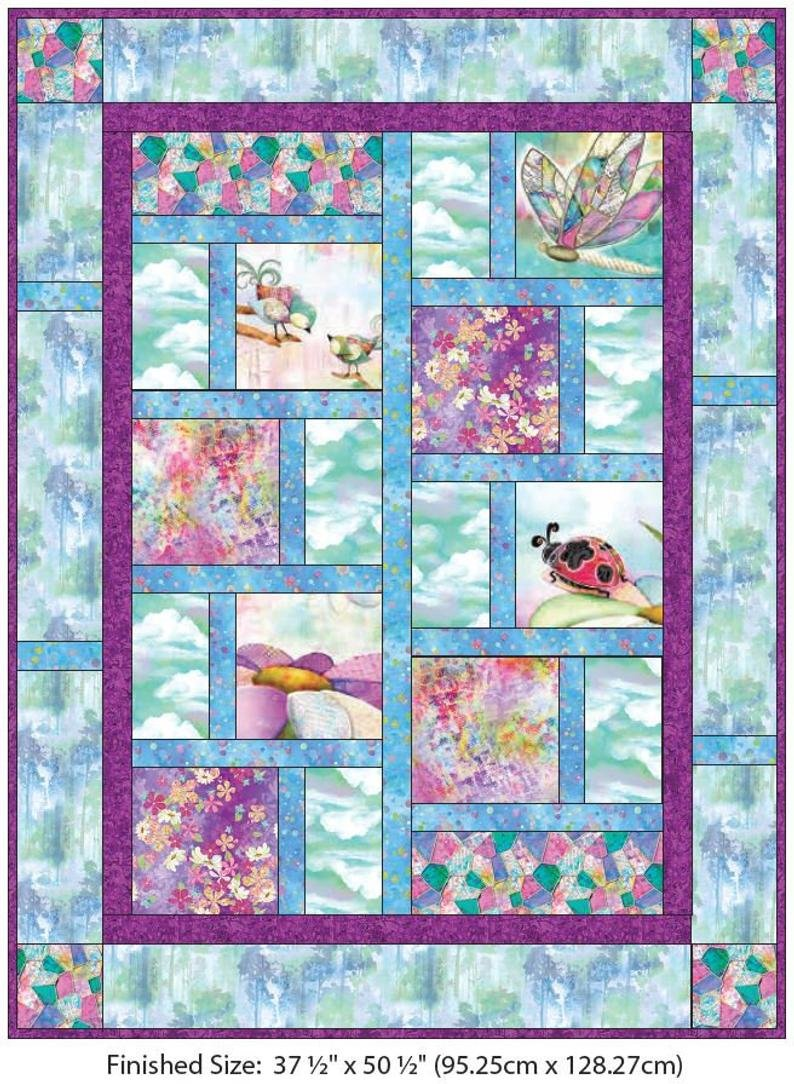 In The Meadow Complete Quilt Kit