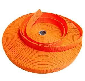 Polypro Webbing 1 Orange