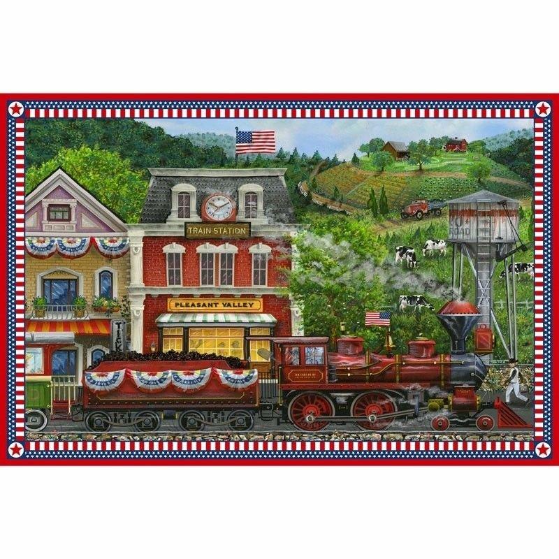 Sweet Land Of Liberty - Panel 21642 24