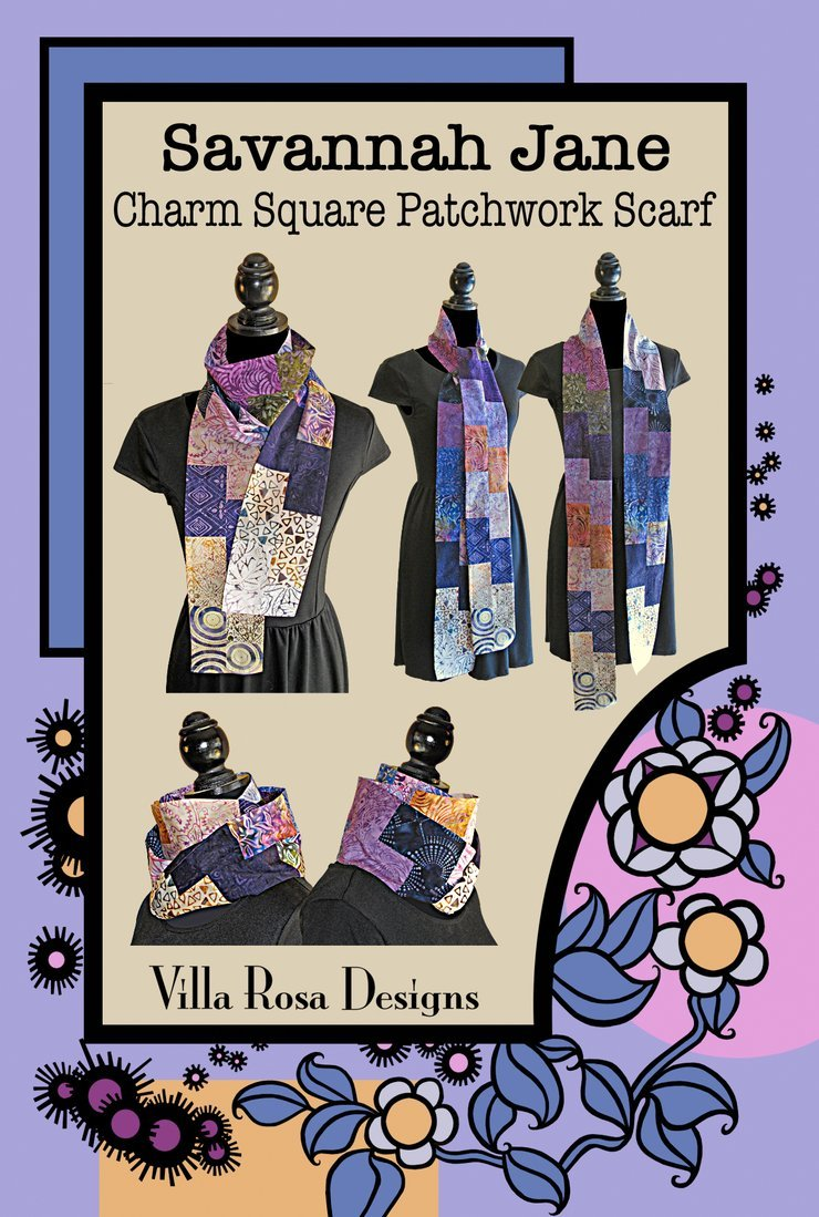 Savannah Jane scarf Pattern
