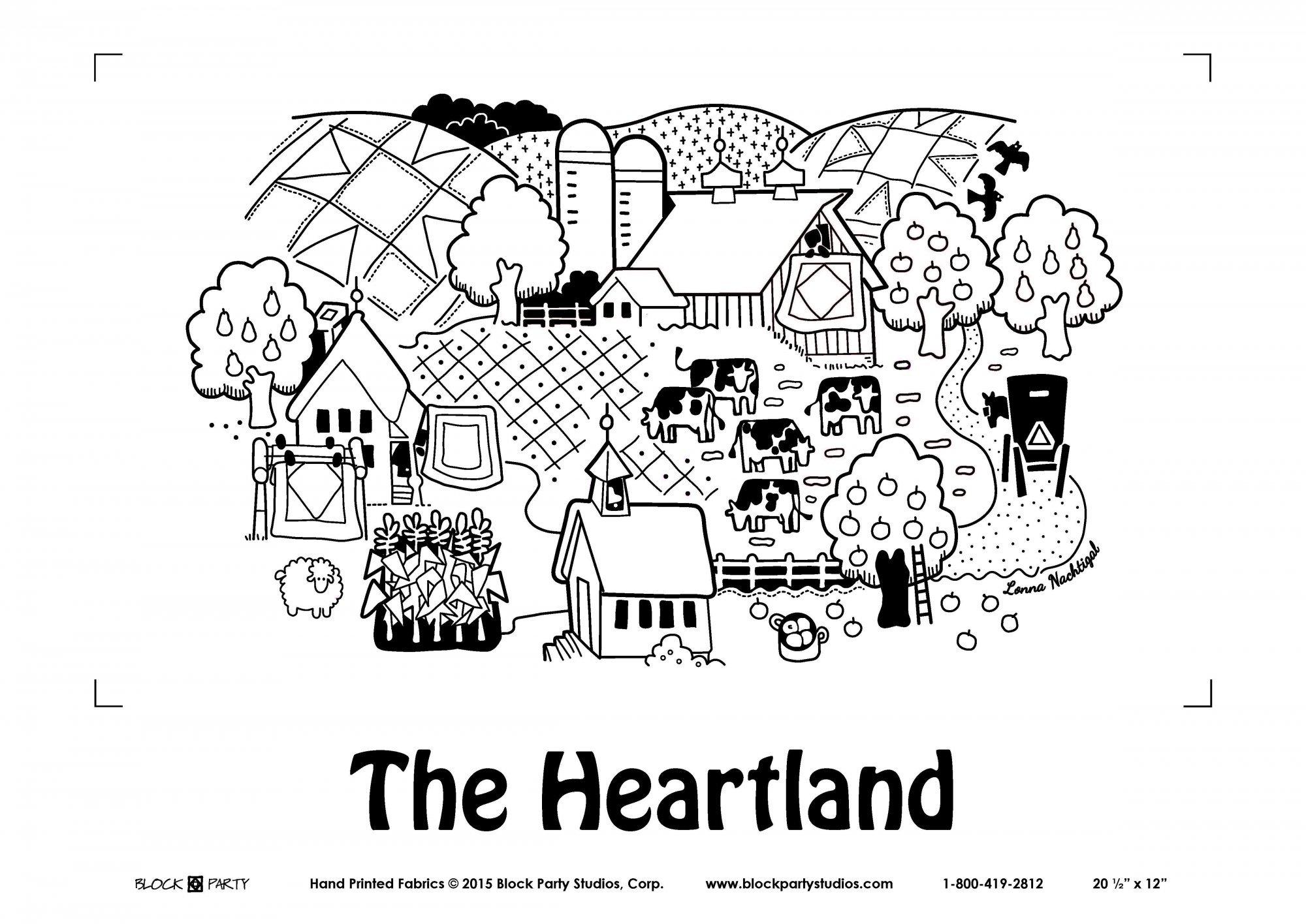The Heartland Panel/Pattern