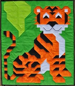 Andys Tiger Quilt Pattern