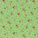 Retro 30's Child Smile Children on green
