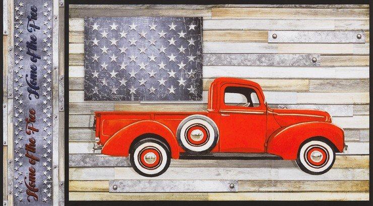 Truck Panel - Kaufman country