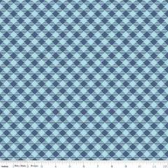 Basics Gingham Blue