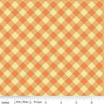 Basics Gingham Orange