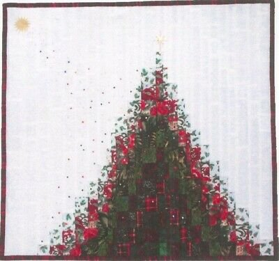 Christmas Stardust Bargello Quilt as You Go Quilt Pattern by Grizzly Gulch