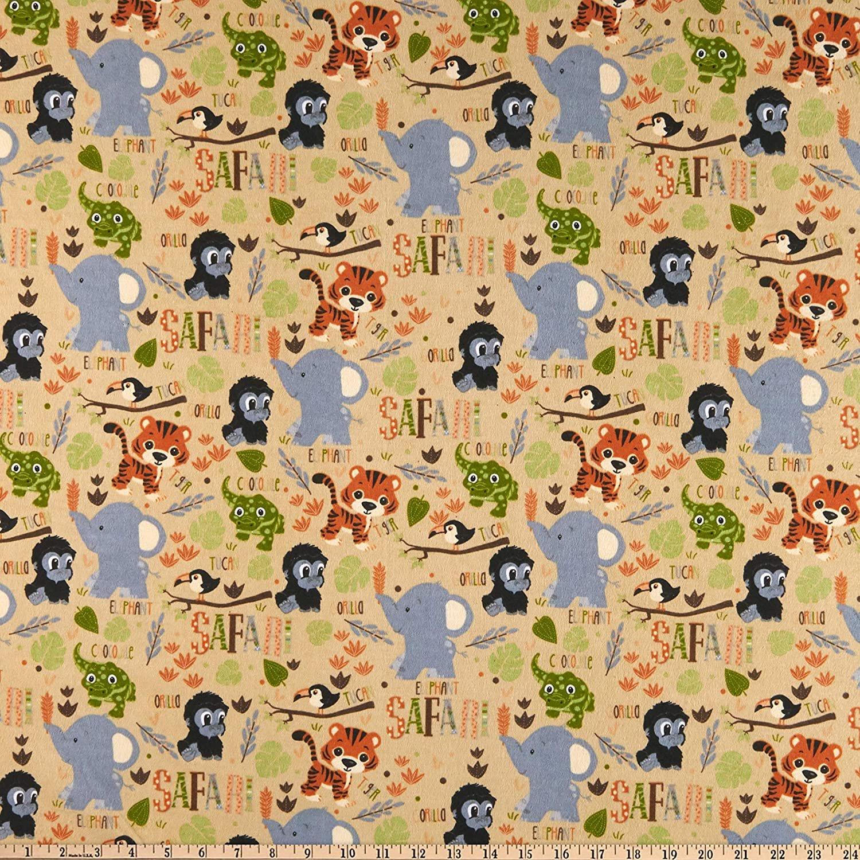 Fun Flannel Safari Tan