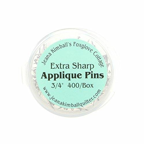 Jeana Kimball's Foxglove Cottage Extra Sharp Applique Pins