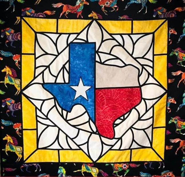 Texas Stained Glass Kit- Texas Flag