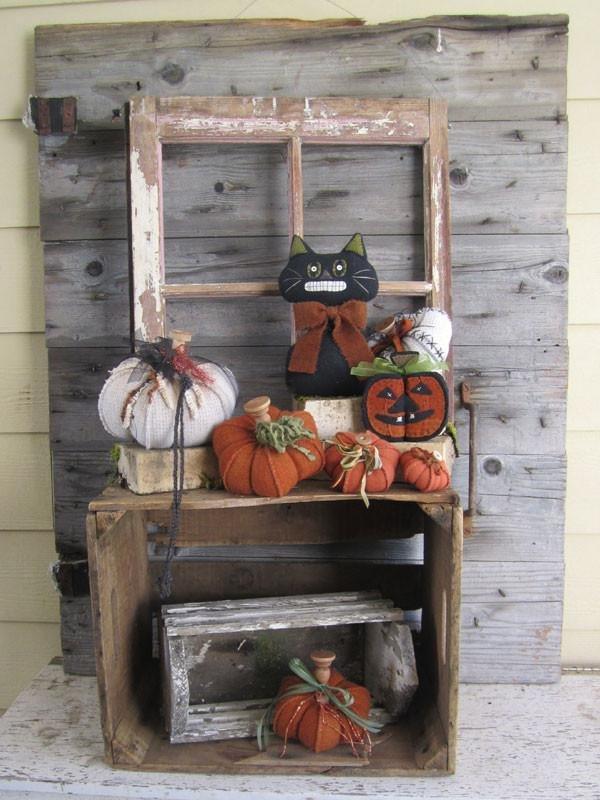Wooden Spool Designs Pumpkin Patch Jack Pattern