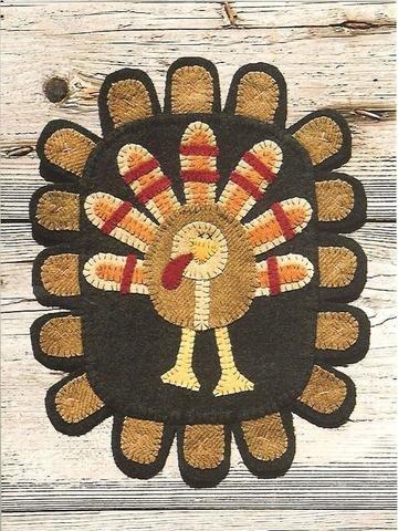 WSD Turkey Feathers Pattern