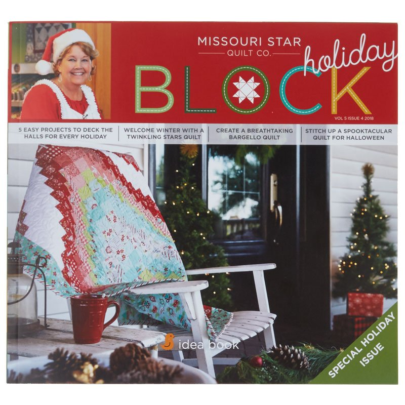 Missosuri Star Holiday Block Idea Book