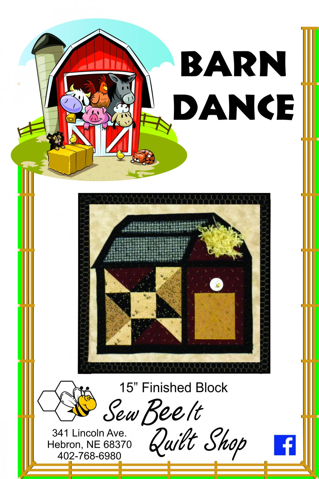 Barn Dance Barn Block