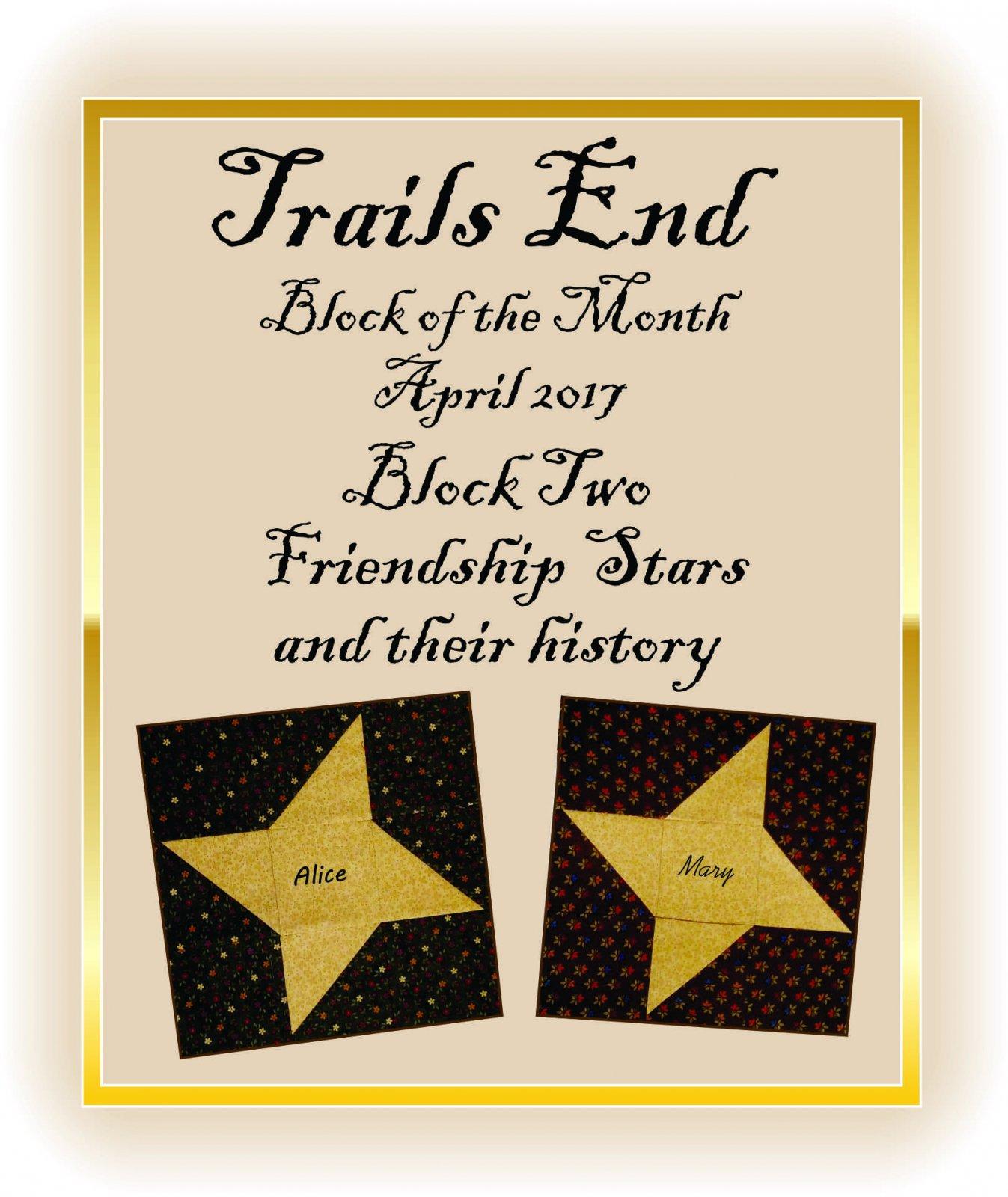Block 2 Friendship Star