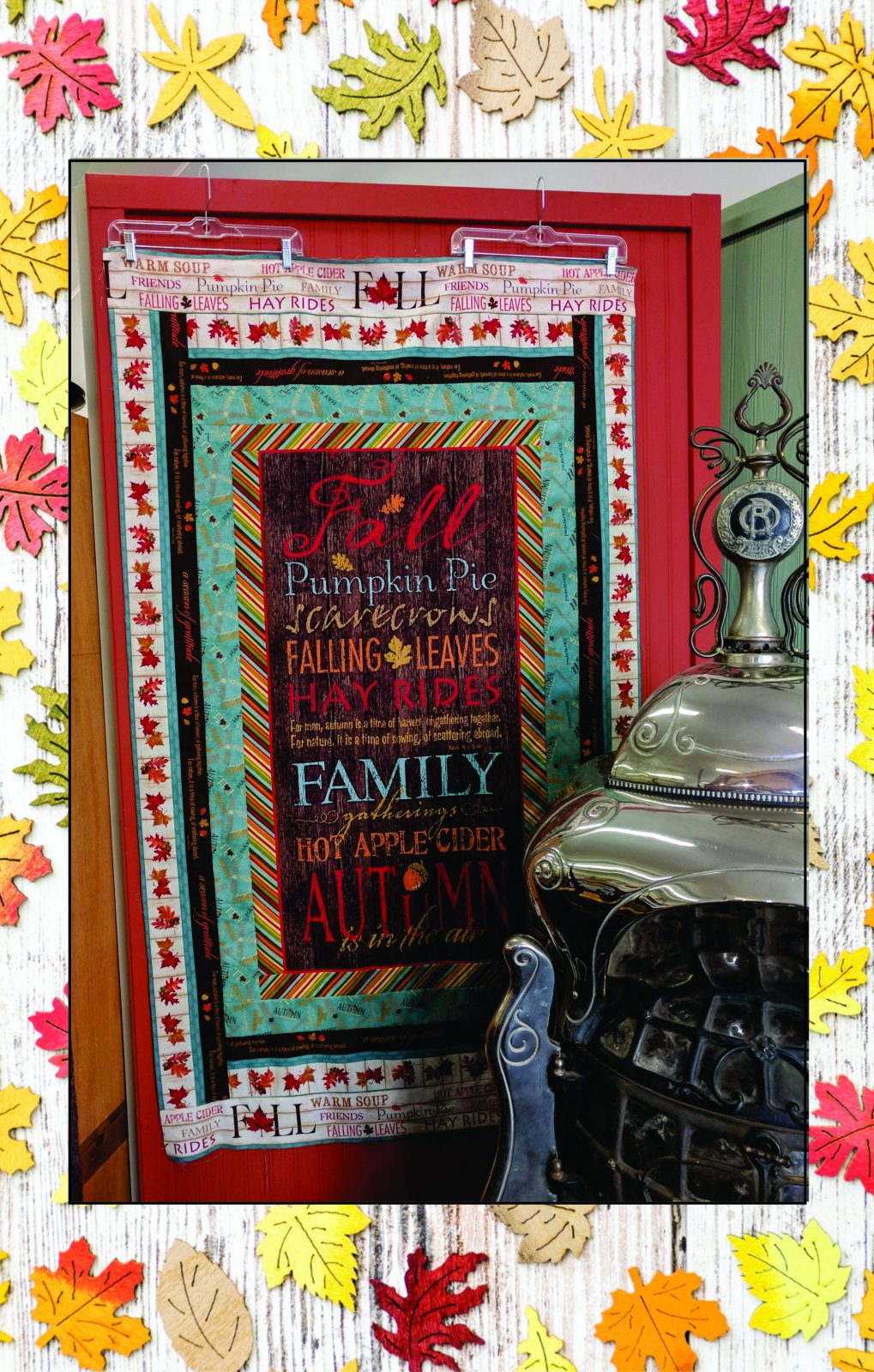 Colors of Fall Wall Hanging Kit
