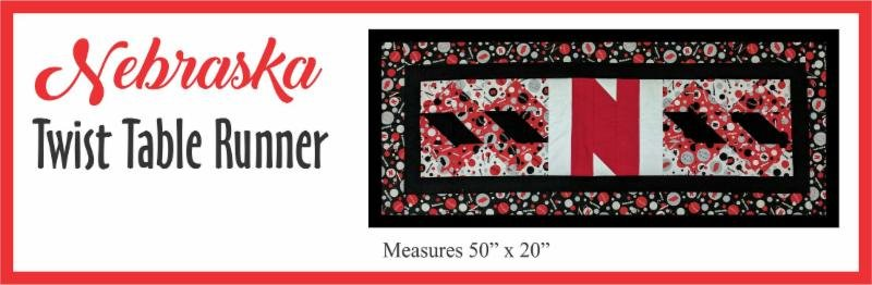 Nebraska Twist Table Runner Kit