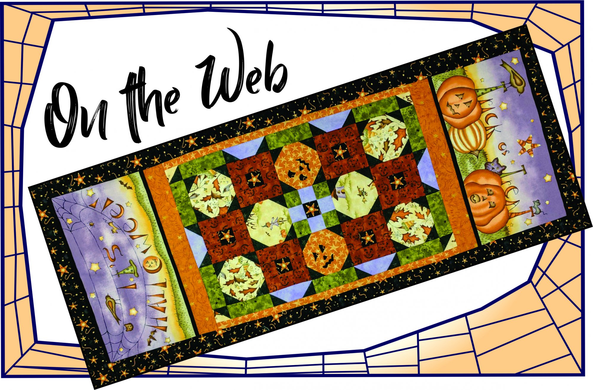 On The Web Table Runner Kit