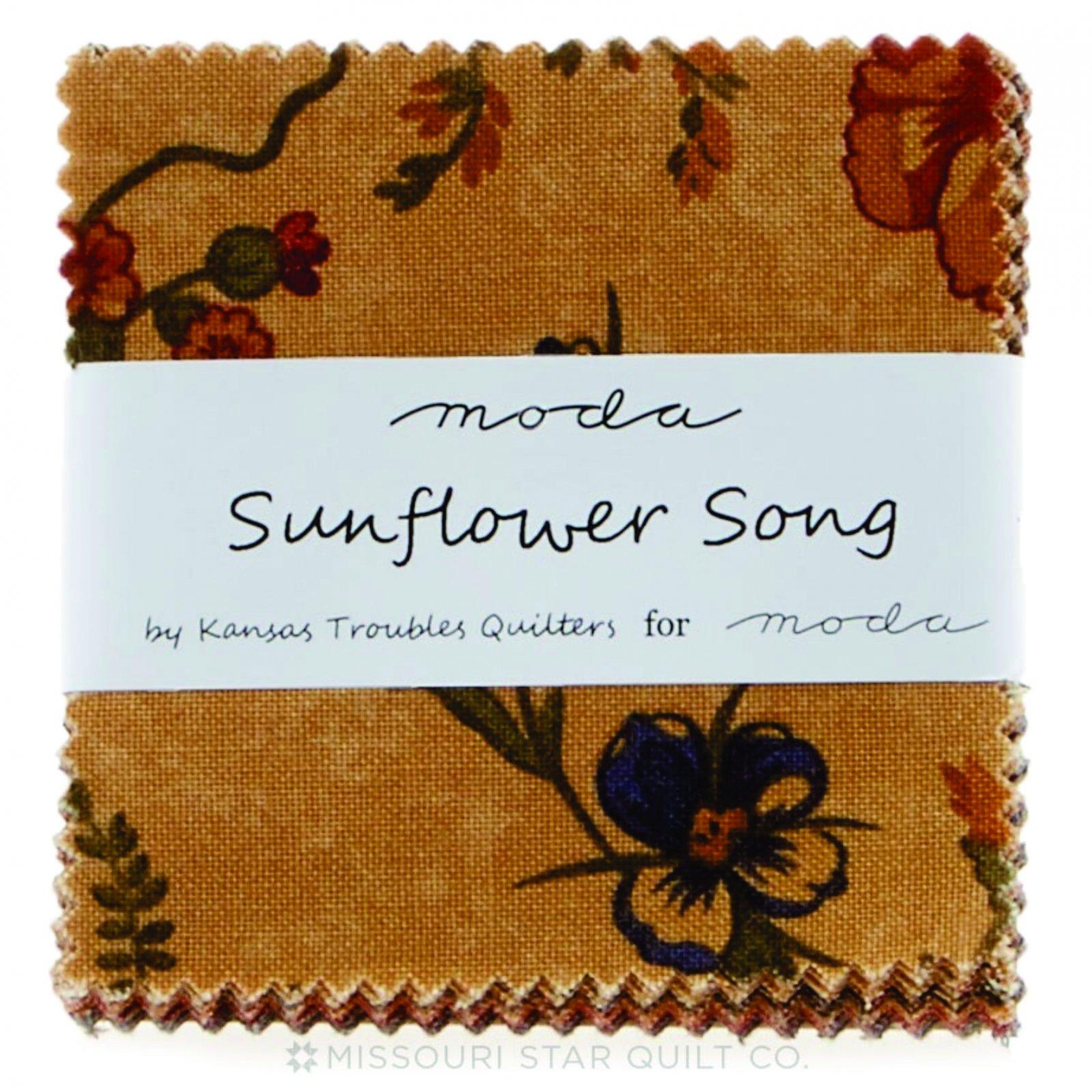 Sunflower Song Mini Charm Pack