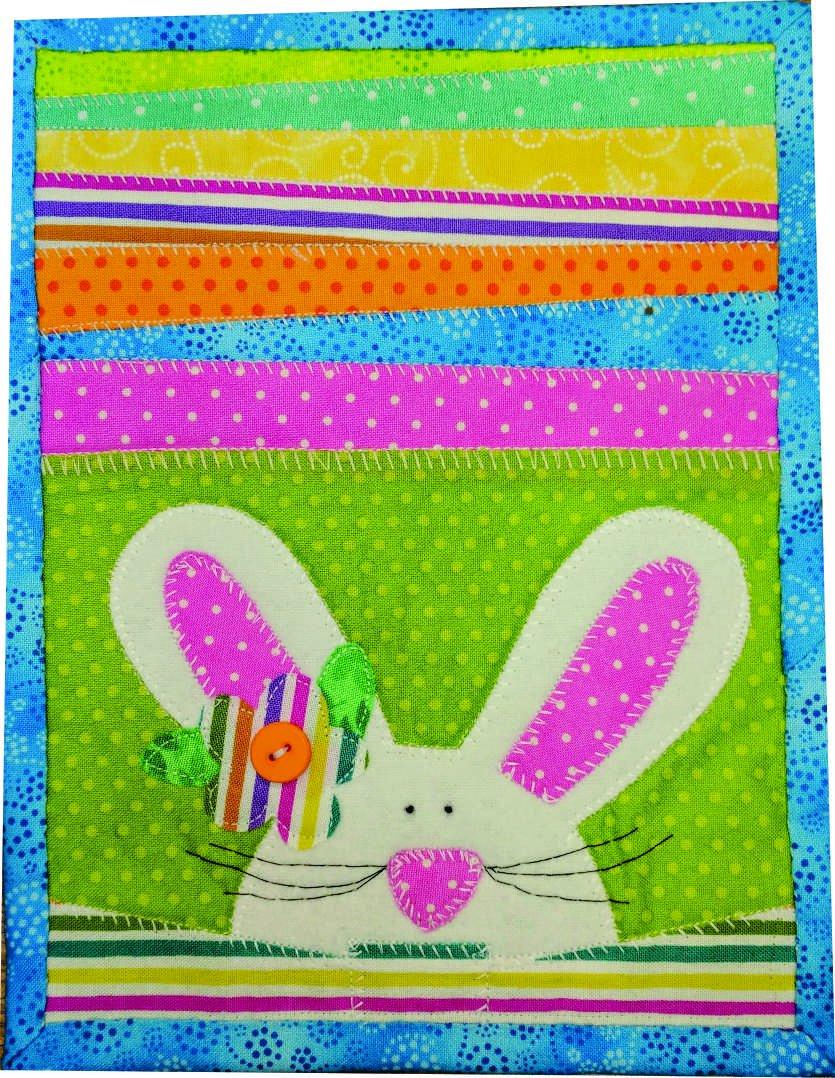 Bunny Mug Rug Kit