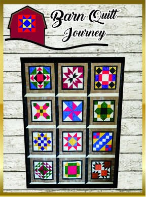 Barn Quilt Journey 2018 Finishing Kit