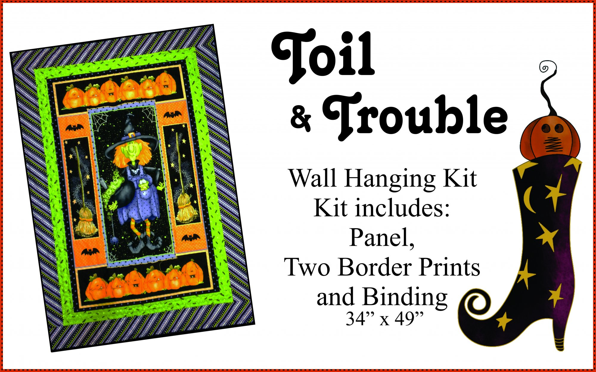 Toil and Trouble Kit
