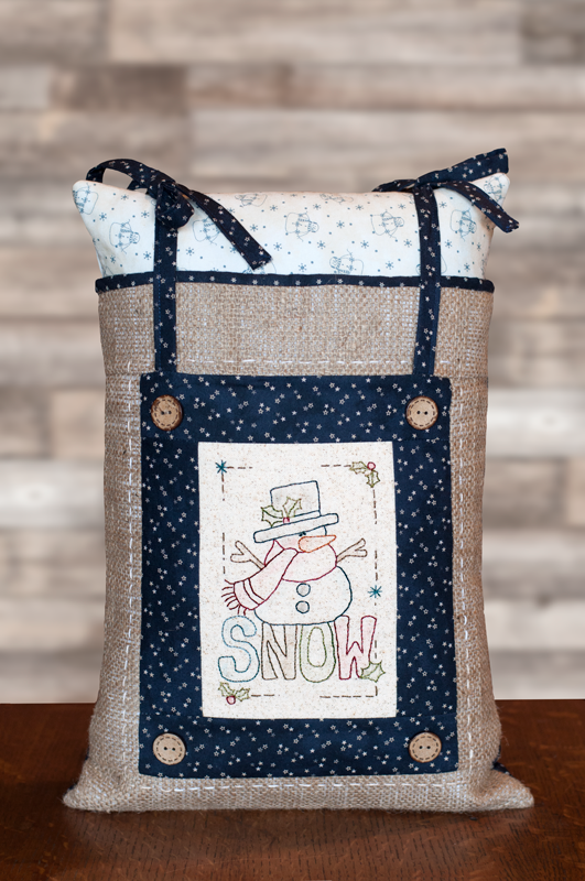 Snow Adorable Pillow Kit